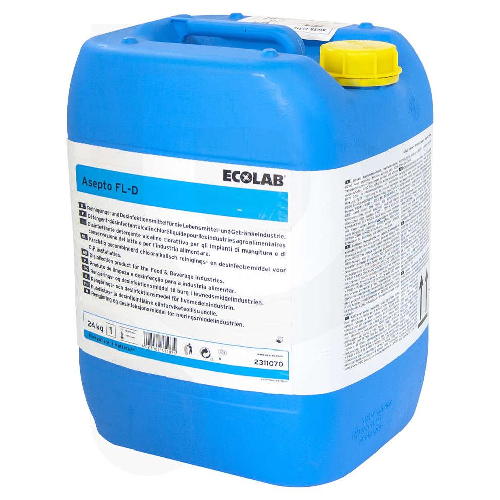 Detergente ASEPTO FL-D P.M.C Chlor (24 kg)