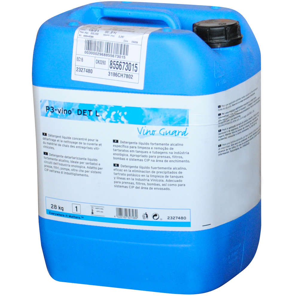 Detergente detartarizzante P3-vino DET L (28 kg)