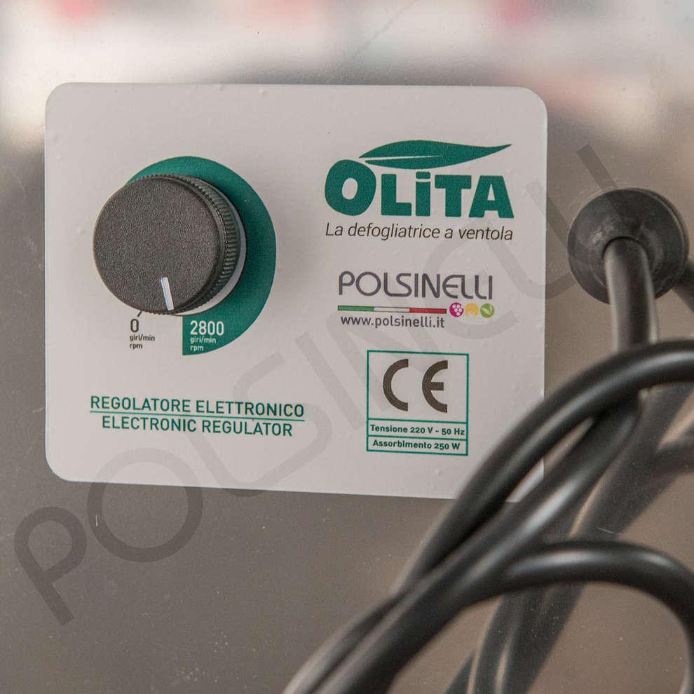 Effeuilleuse d'olives électrique Olita avec grille