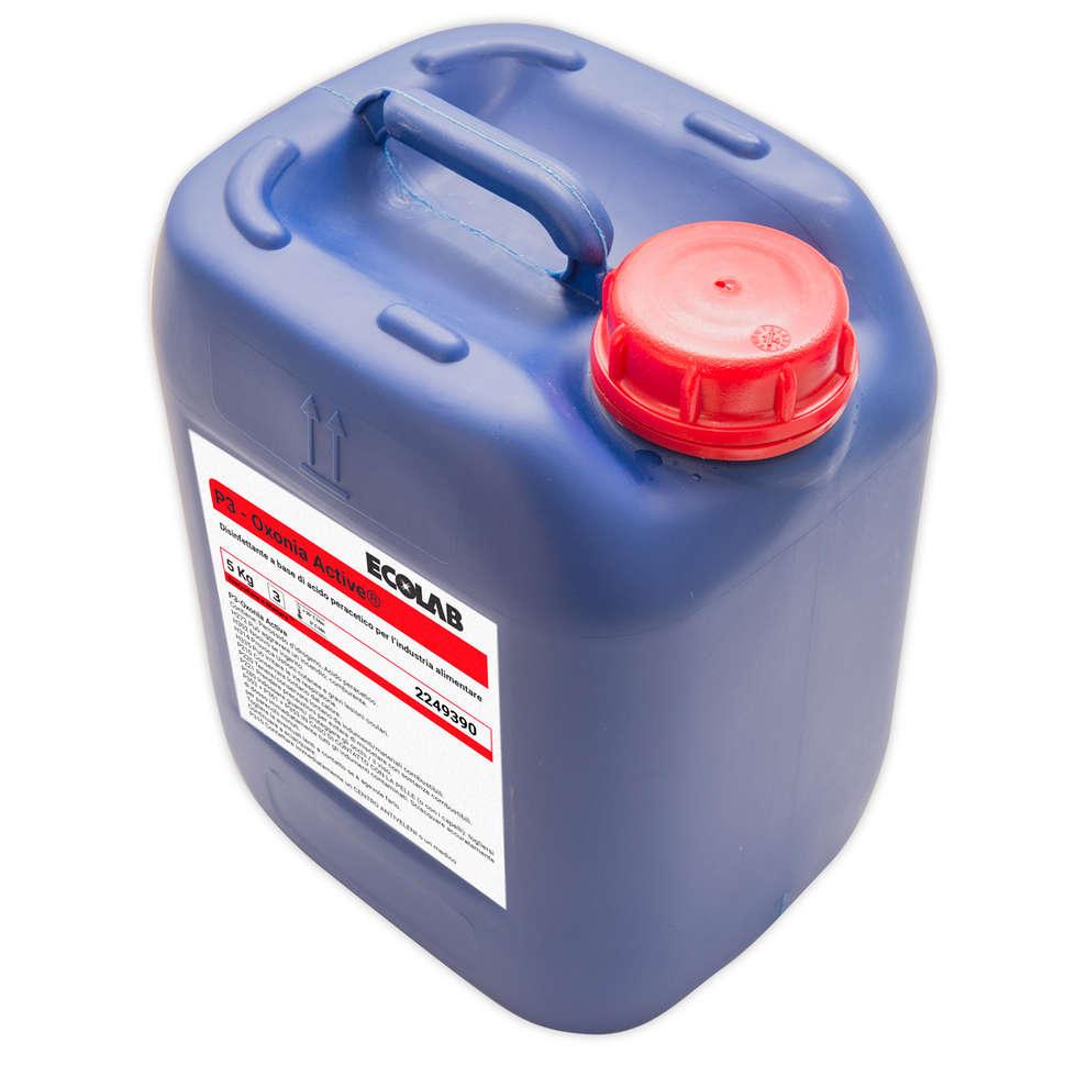 El ácido peracético (5 kg)