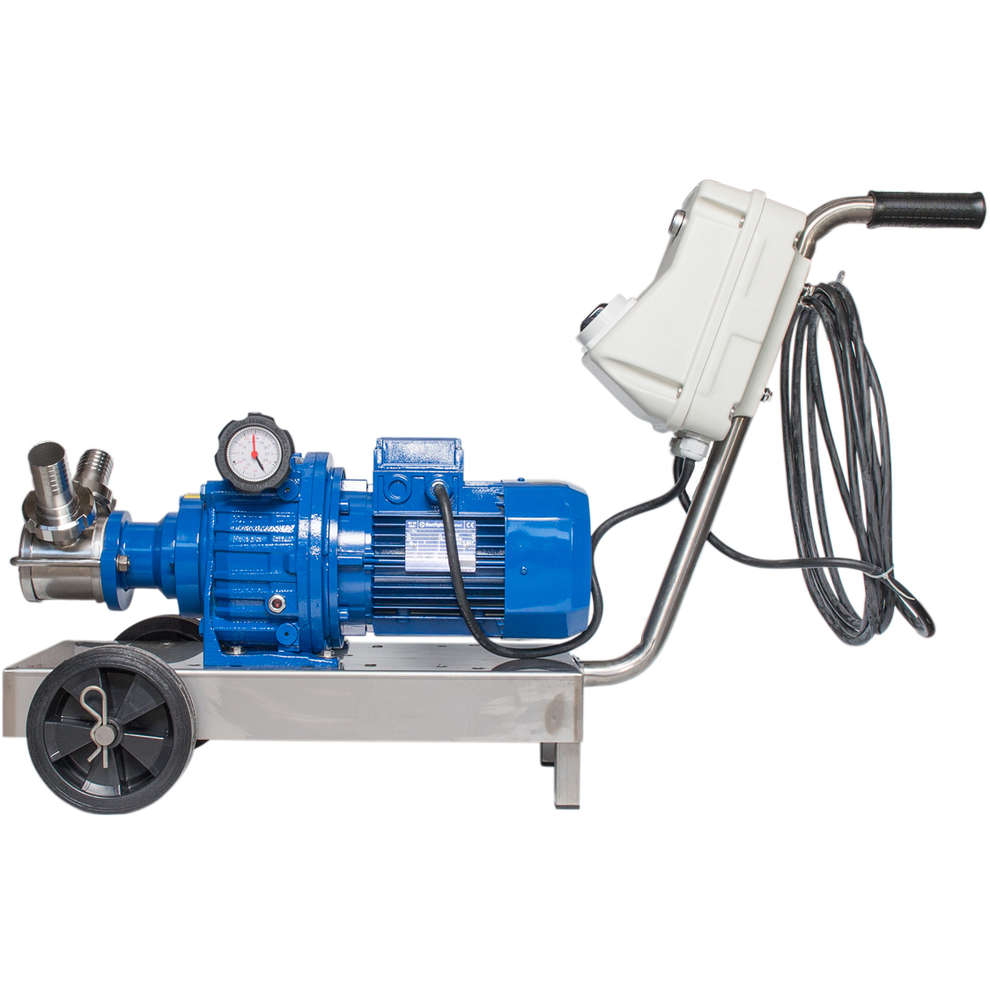 Electric pump EP MINOR 40 BEER with electrical speed variator 380V