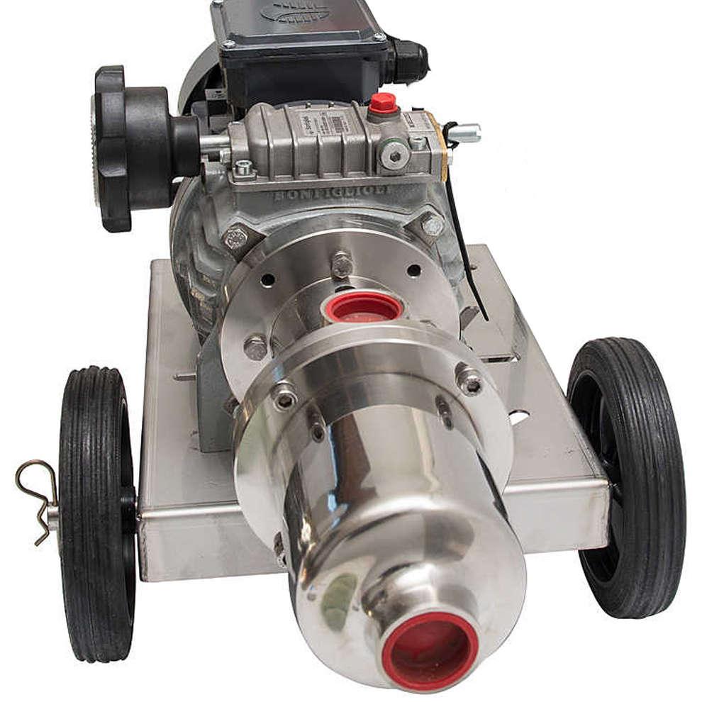 Electrobomba para uso alimentario P30 A.T. con regulador mecánico de velocidad
