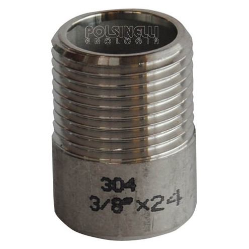 Embout inox 3/8""