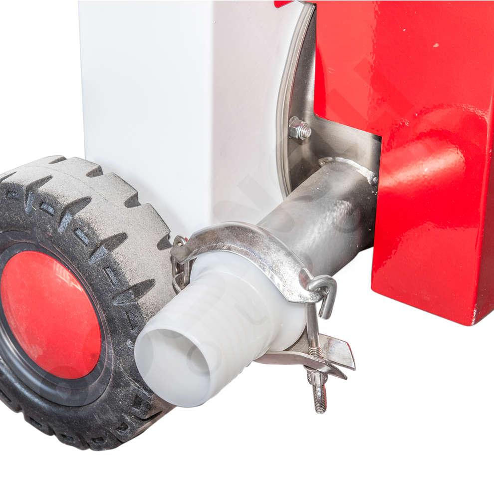 Enamelled Destemmer with pump Fibreno 50
