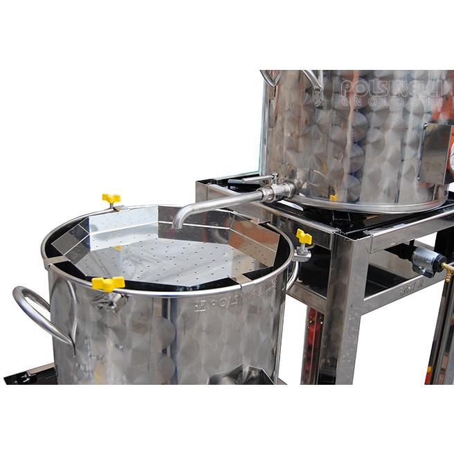 Equipo de cerveza cónico EASY 100 con fermentador tronco cónico de 60°