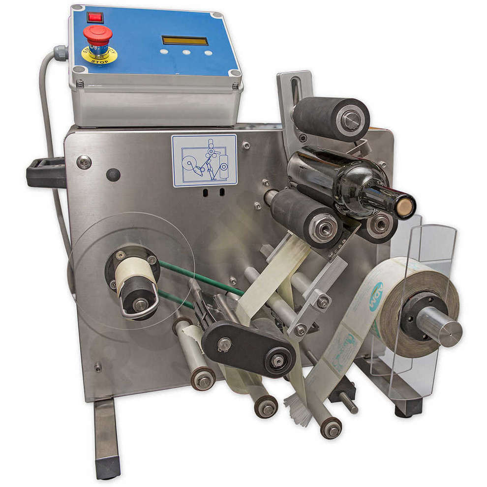ETI 10 labelling machine with thermal transfer marker
