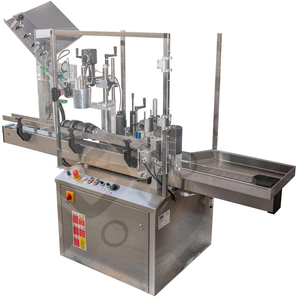 Etikettiermaschine Eti Pro - PVC Kapseln