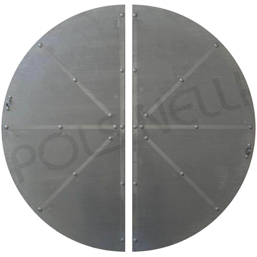 Faux fond filtrant pour drêches inox ⌀ 930