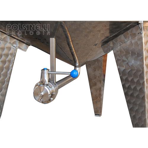 Fermentador de fondo cónico refrigerado 750 L