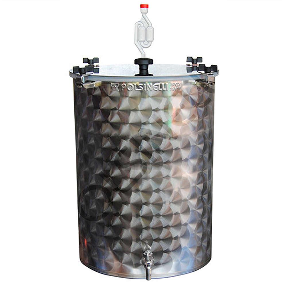 Fermentador inox para cerveza 100 L