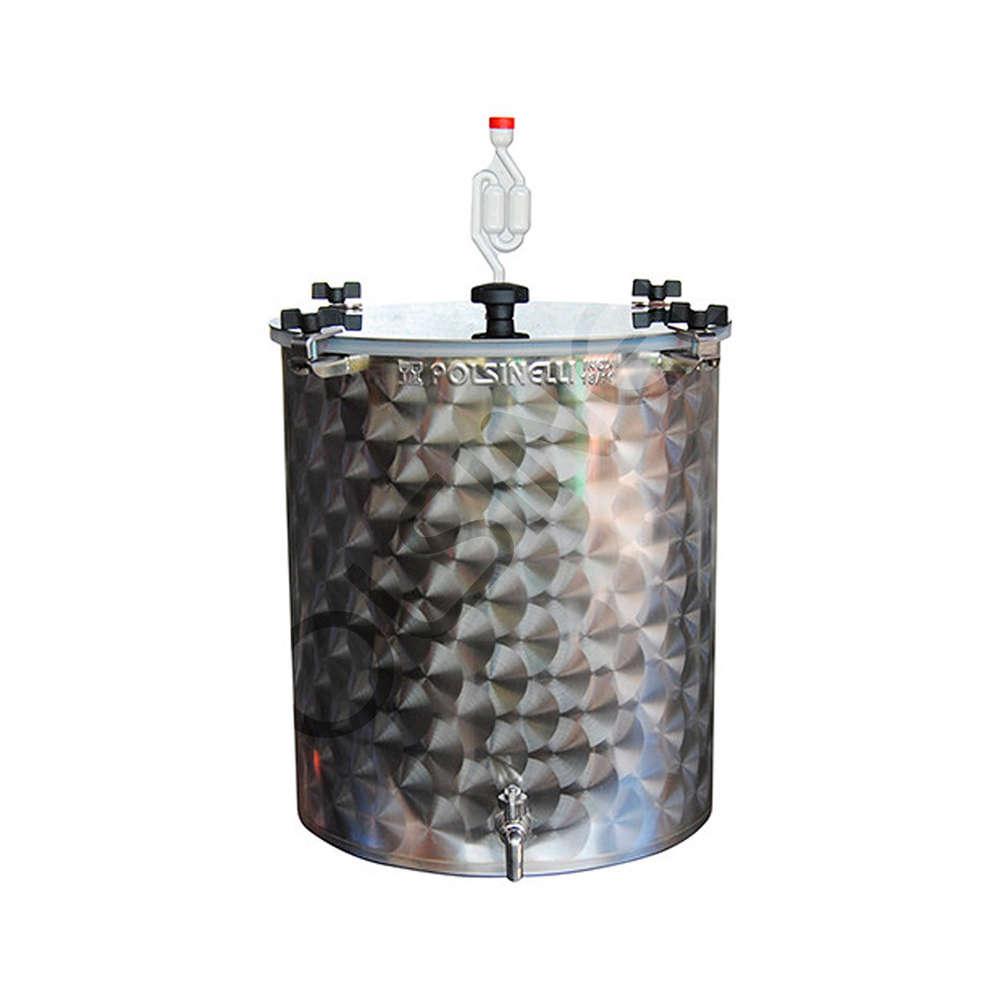 Fermentador inox para cerveza 50 L