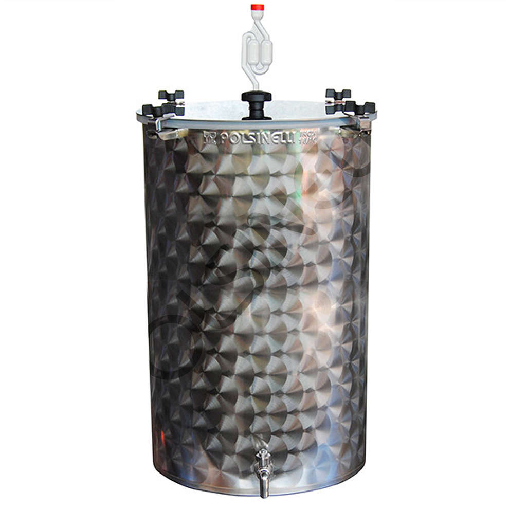 Fermentador inox para cerveza 75 L