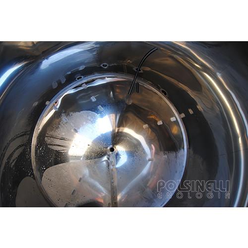 Fermentatore fondo conico refrigerato 550 L