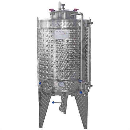 Calendario Imbottigliamento Vino 2020 Pdf.Fermentatore Fondo Conico Refrigerato 750 L