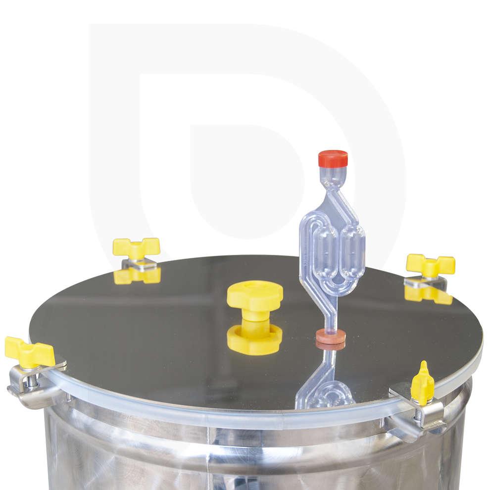 Fermentatore inox CONICO 60° 200 L