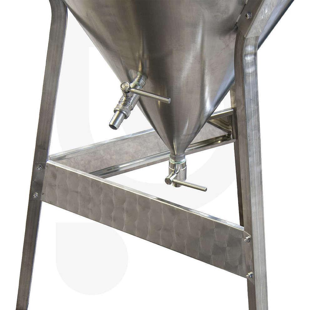 Fermentatore inox Conico 60° per Kombucha 300 L