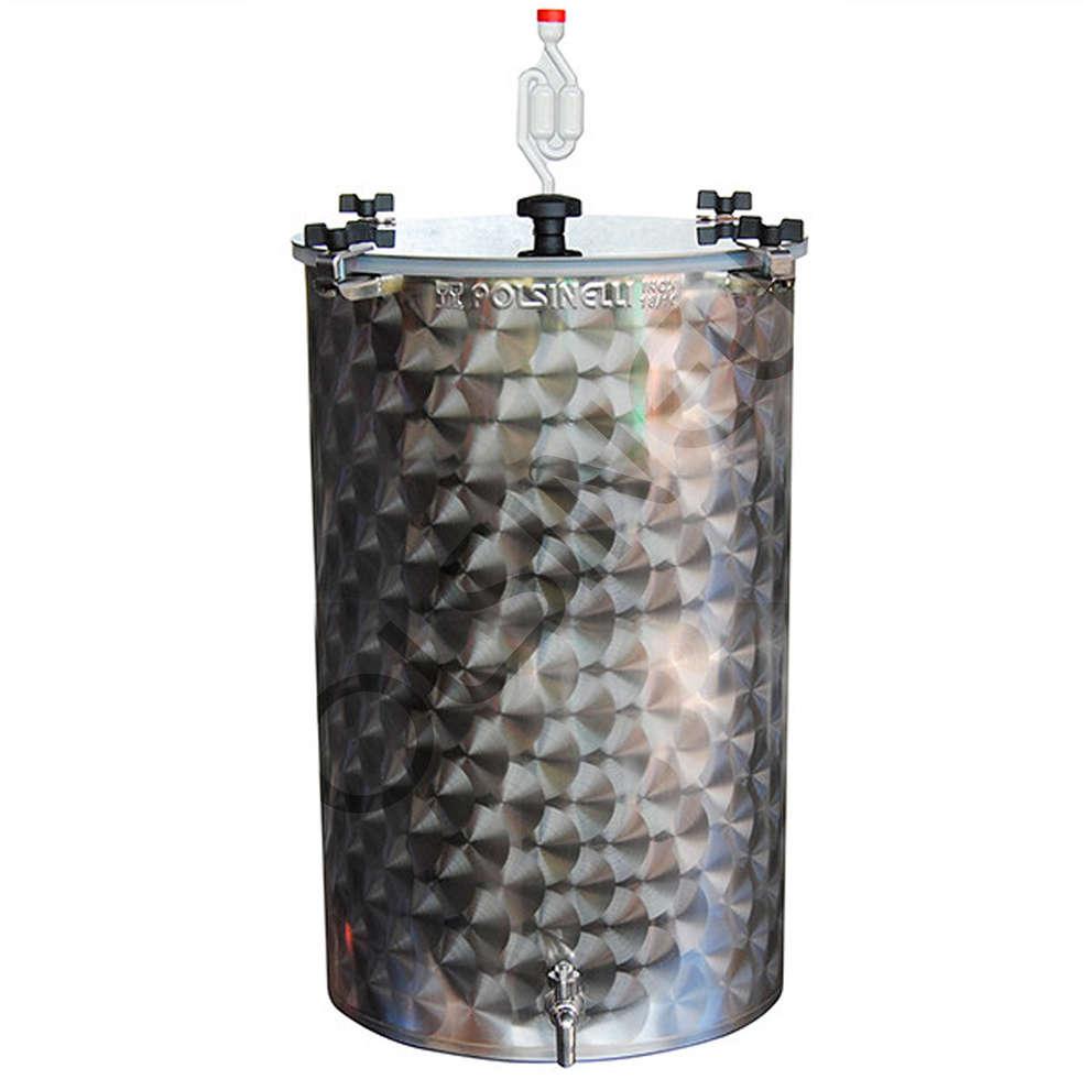 Fermentatore per birra inox 75 L