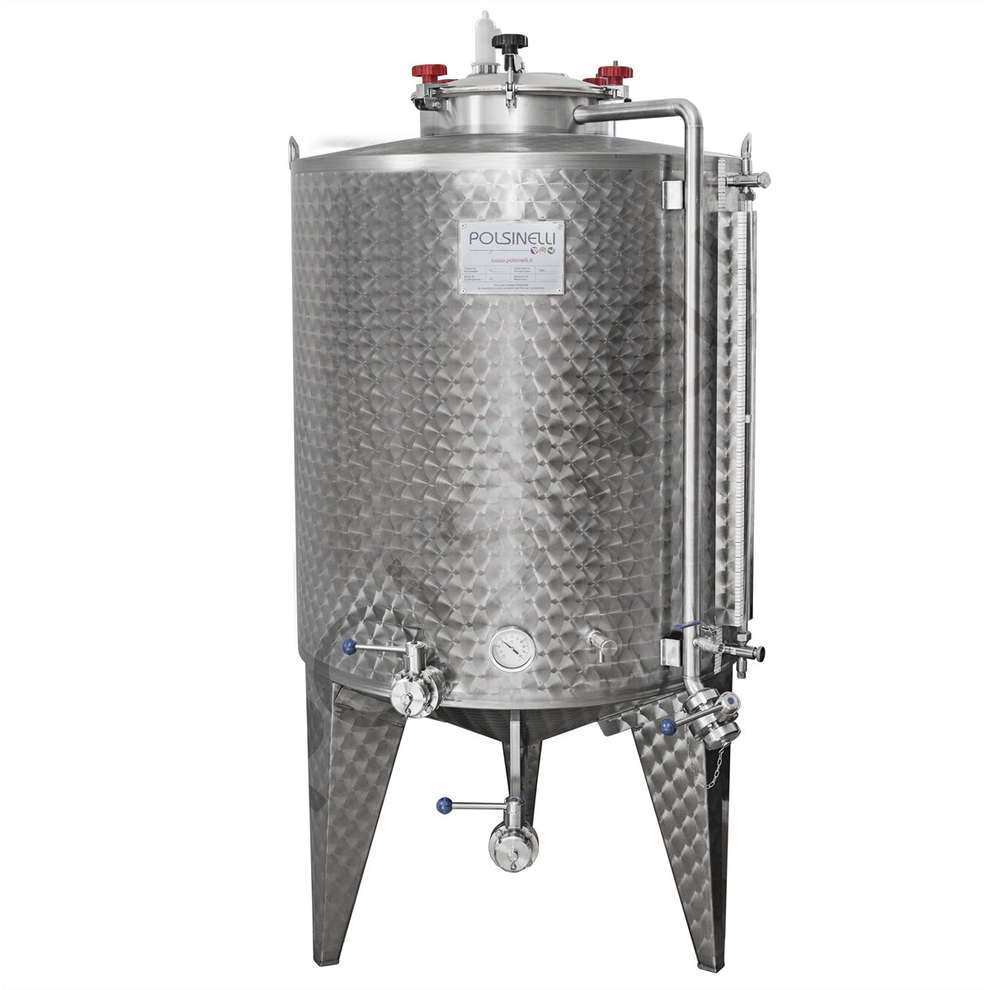 Fermenter with conical bottom 750 L