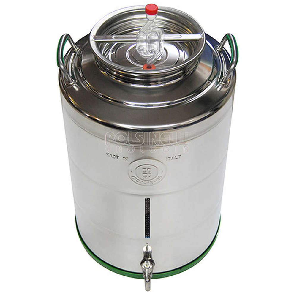 Fermenteur 50 L canon en acier inoxydable