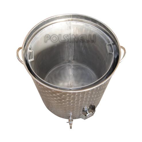 Filtre à panier pour drêches inox ⌀590