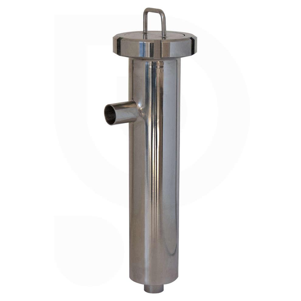Filtro inox para lúpolo con conexiones soldables DIN