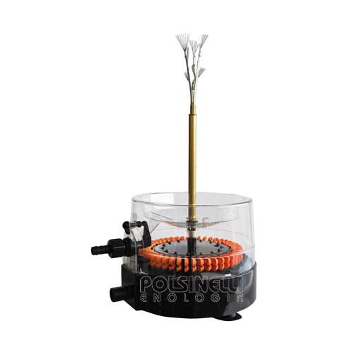 Flaschenwascher mit Turbine