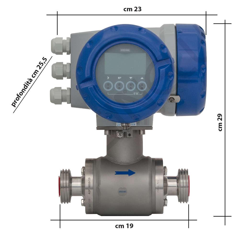 Flowmeter Krohne for food use
