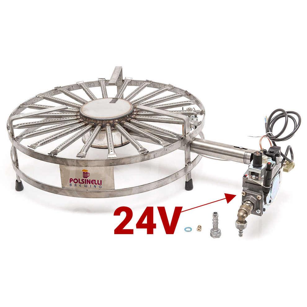 Fornellone a gas inox 26 kW ⌀ 56 PSPEV