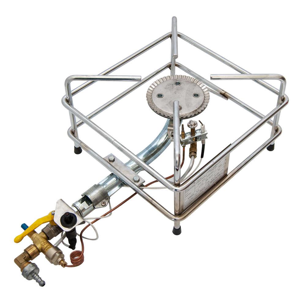 Fornellone gas cromo kw 6.0 PSP GPL/METANO