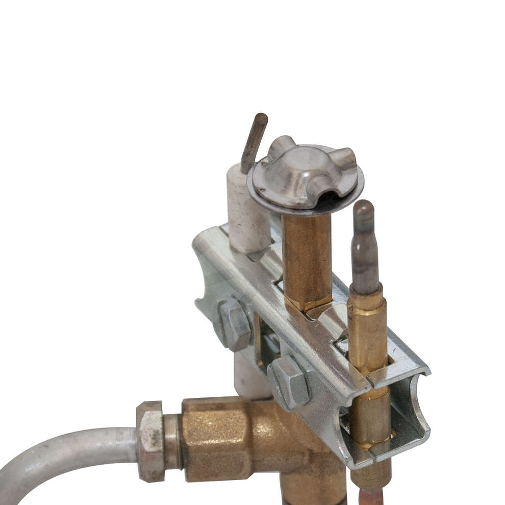 Fornellone gas cromo kw 6.0 PSPEV 24V GPL/METANO
