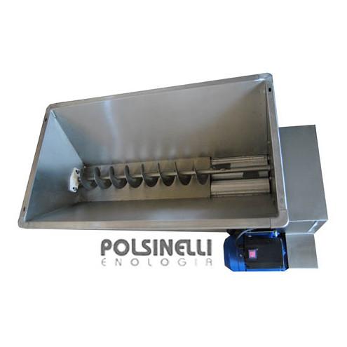 Fouloir-égrappoir électrique Fibreno 20 inox