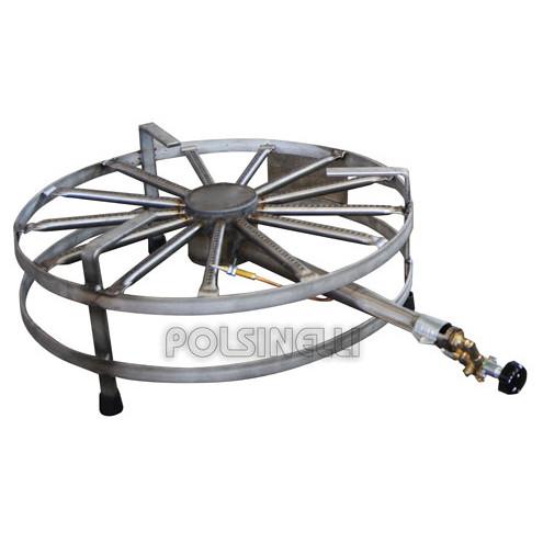 Fourneau à gaz inox ⌀ 68 SIC