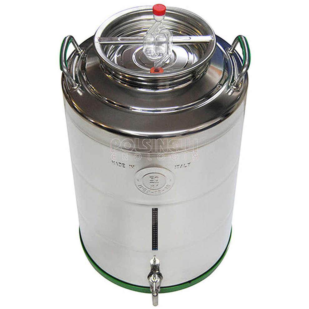 Fusto fermentatore inox 50 L