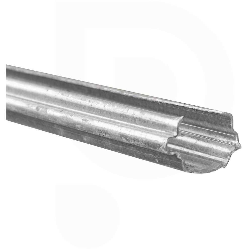 Galvanised intermediate vineyard pole - 2.70 m - 1.50 mm (5 pieces)