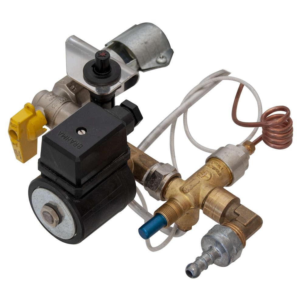 Gas burner CROMO 6.0 kw PSPEV LPG / CNG