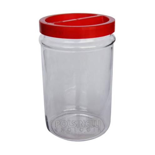 Glas mit Schraubverschluss 5 L (St. 6)