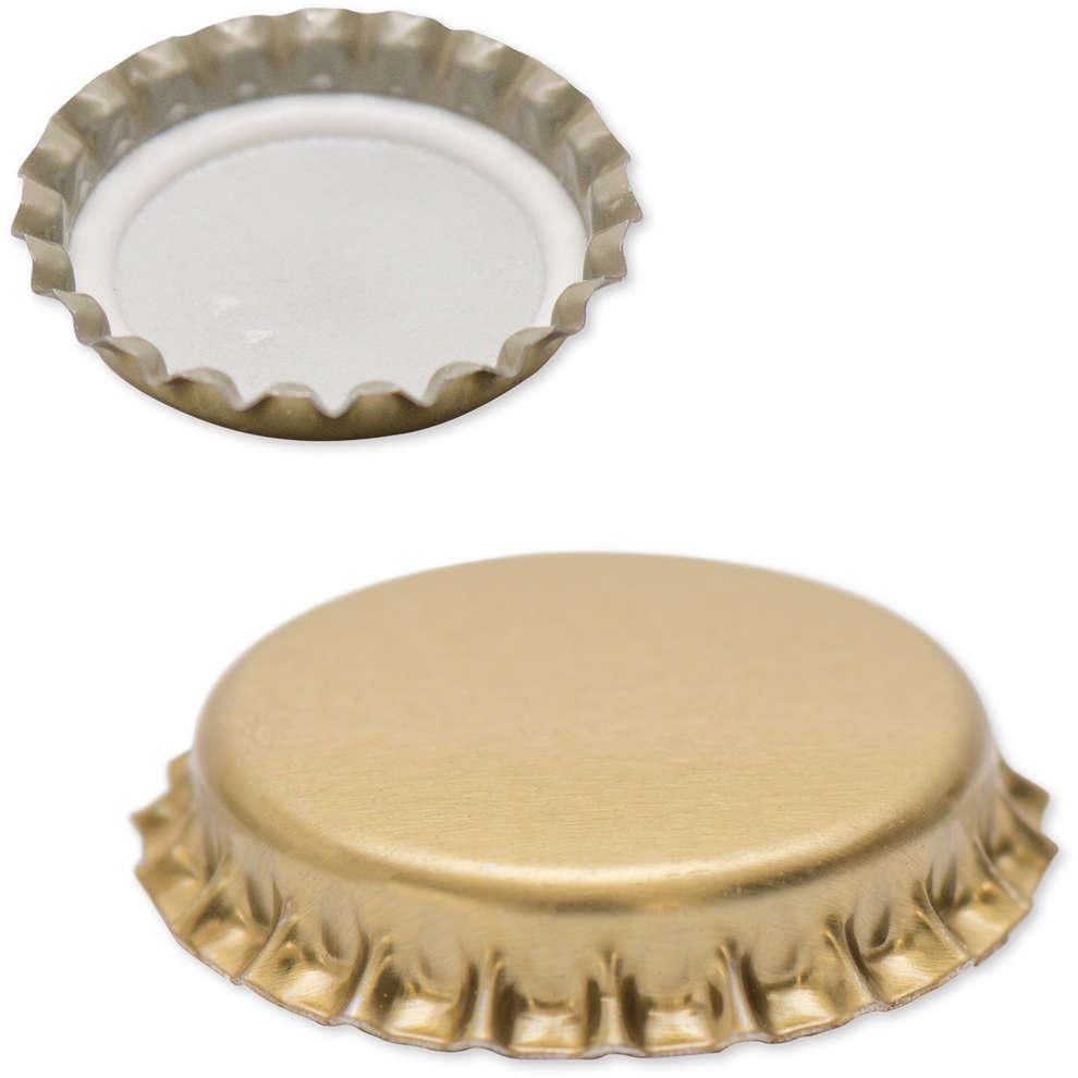 Golden crown cap ⌀29 (200 pcs)