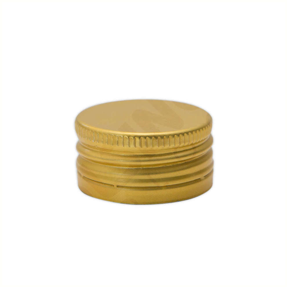 Golden screw cap ⌀18 (100 pcs)