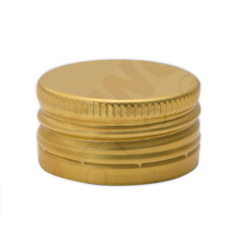 Golden screw cap pre-threaded ⌀31.5 (100 pcs)