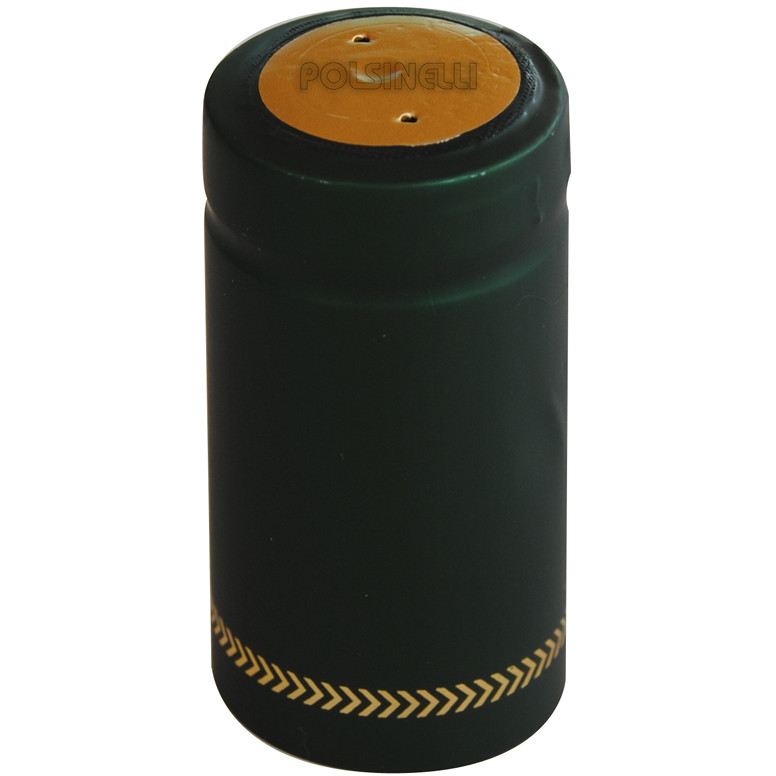 Grüne PVC-Kapsel ⌀31 (100 St)