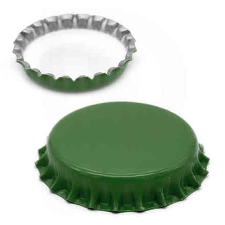 Green crown cap ⌀29 (200 pcs)