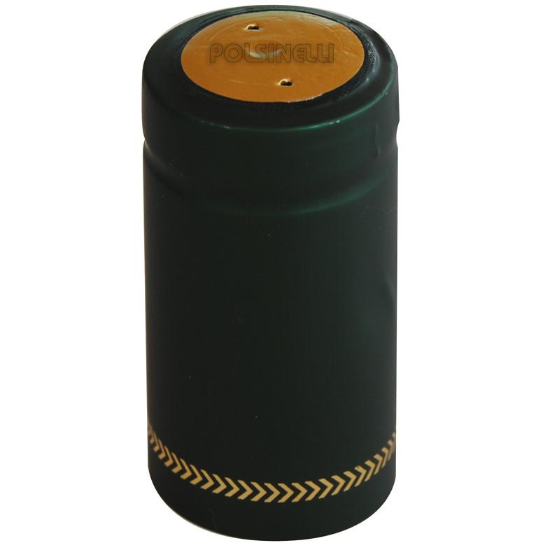Green PVC capsule ⌀31 (100 pcs)