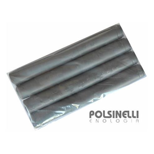 Grey PVC capsule ⌀30 (100 pcs)