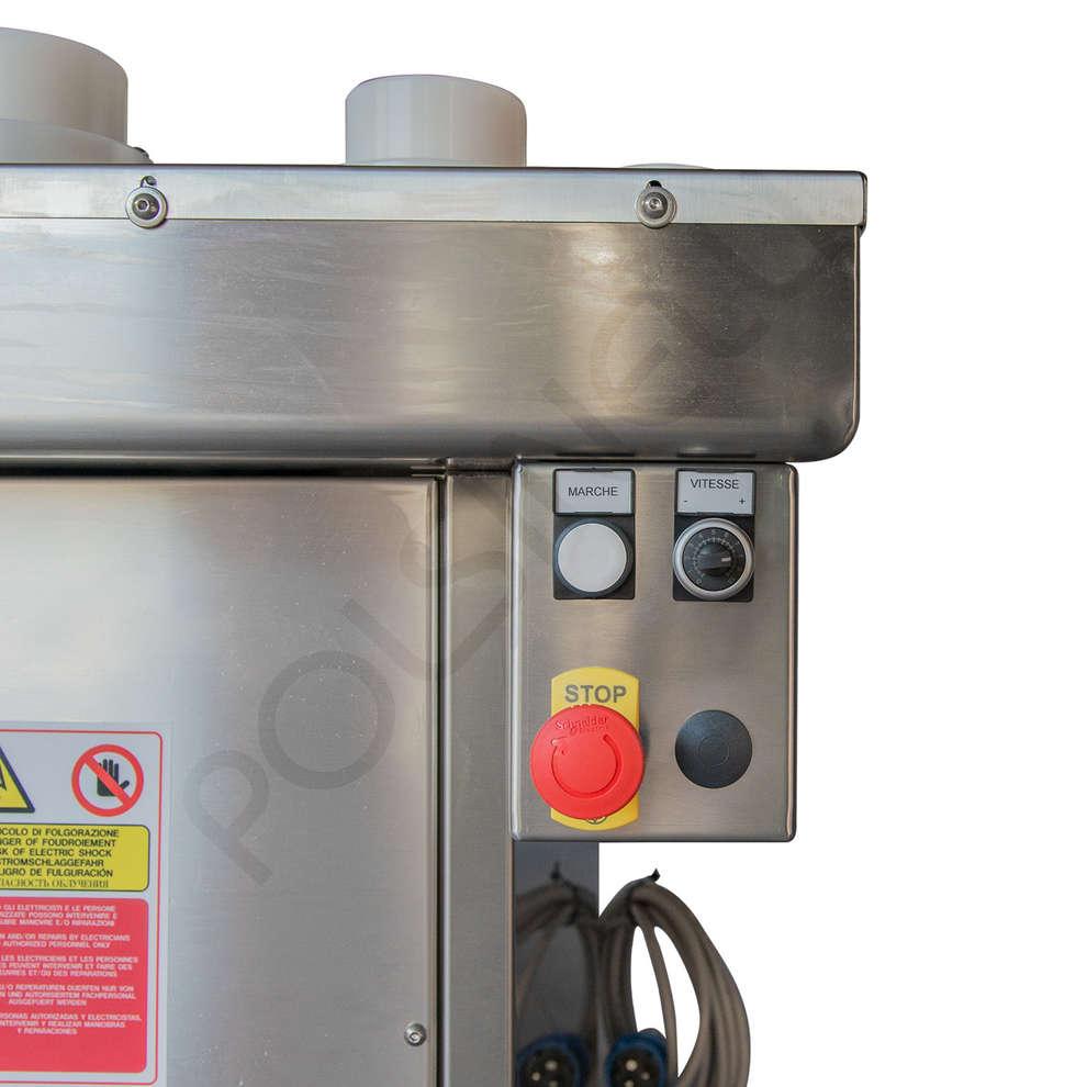 Halbautomatiche Flaschenreinigungsmaschine P 10