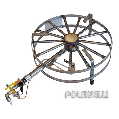 Hornillo de gas de acero de 11 kW PSP Ø 50