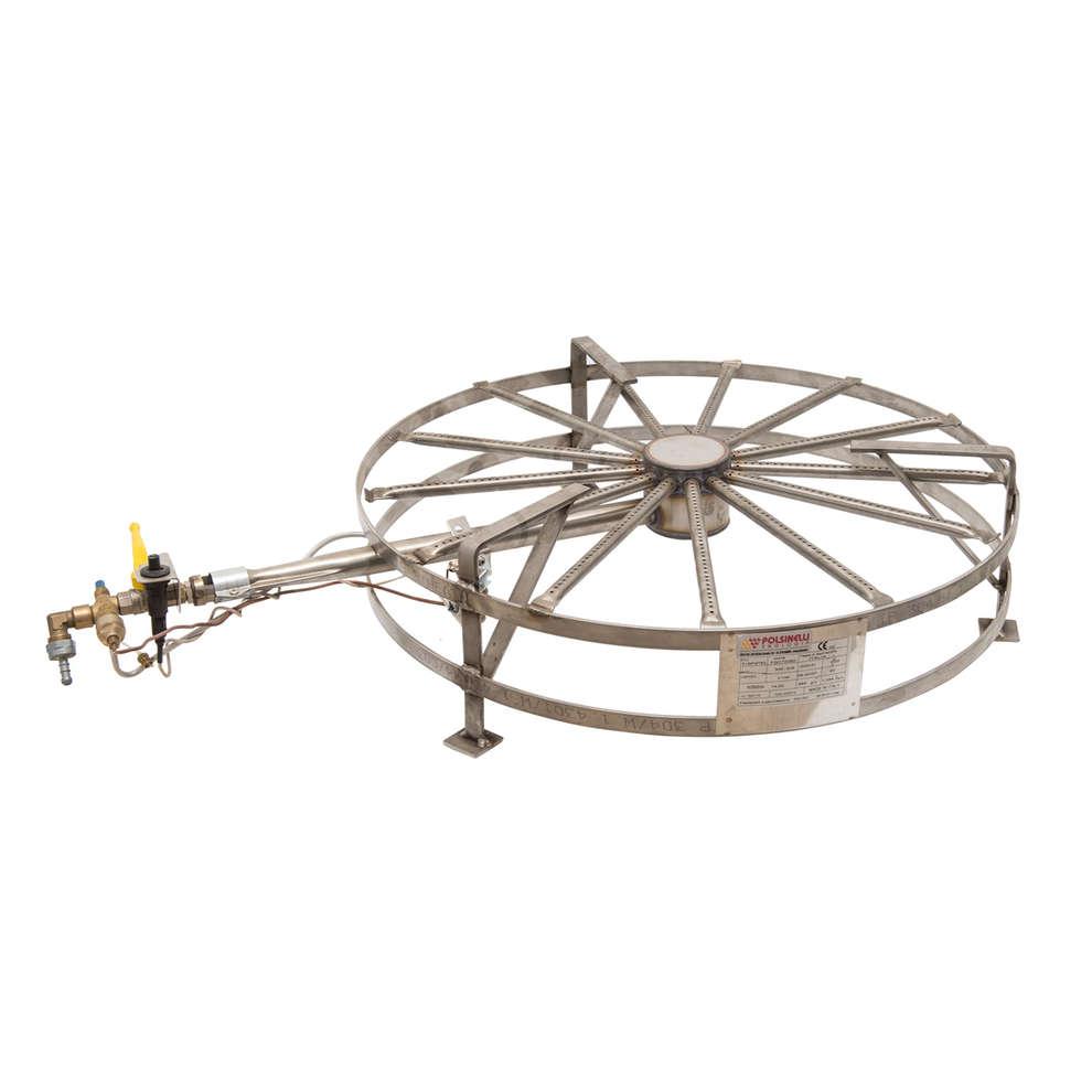Hornillo de gas de acero de 14 kW PSP Ø 68