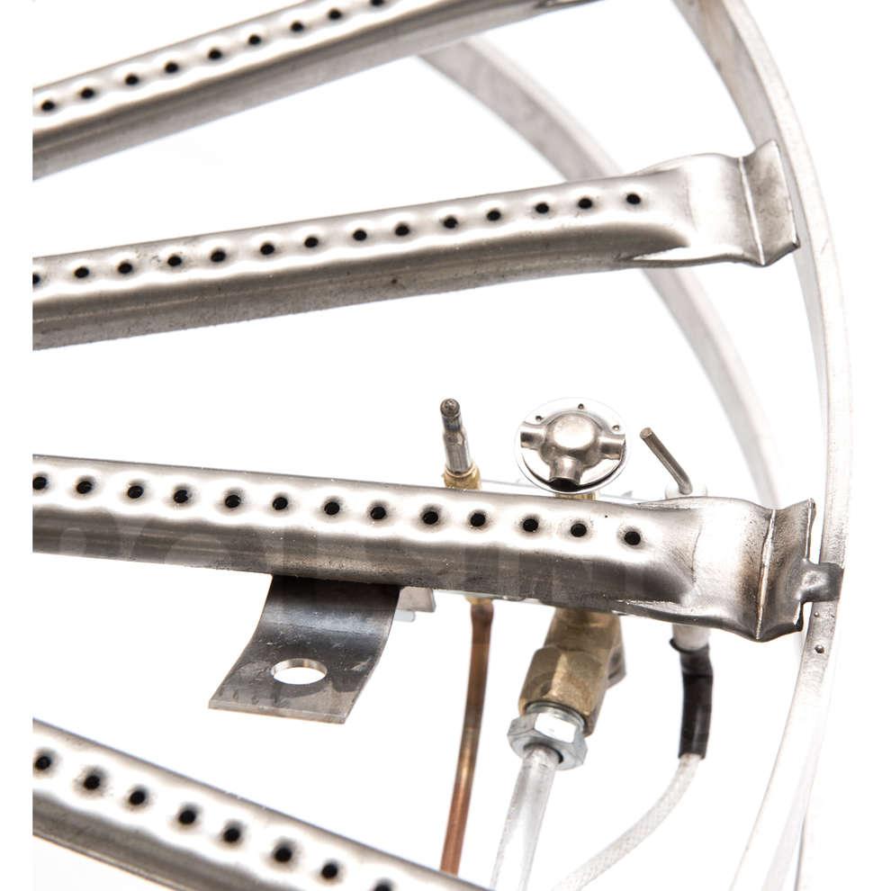 Hornillo de gas de acero de 26 kW PSPEV Ø 56