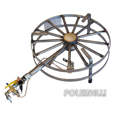 Hornillo de gas de acero de 45 kW PSP Ø 74