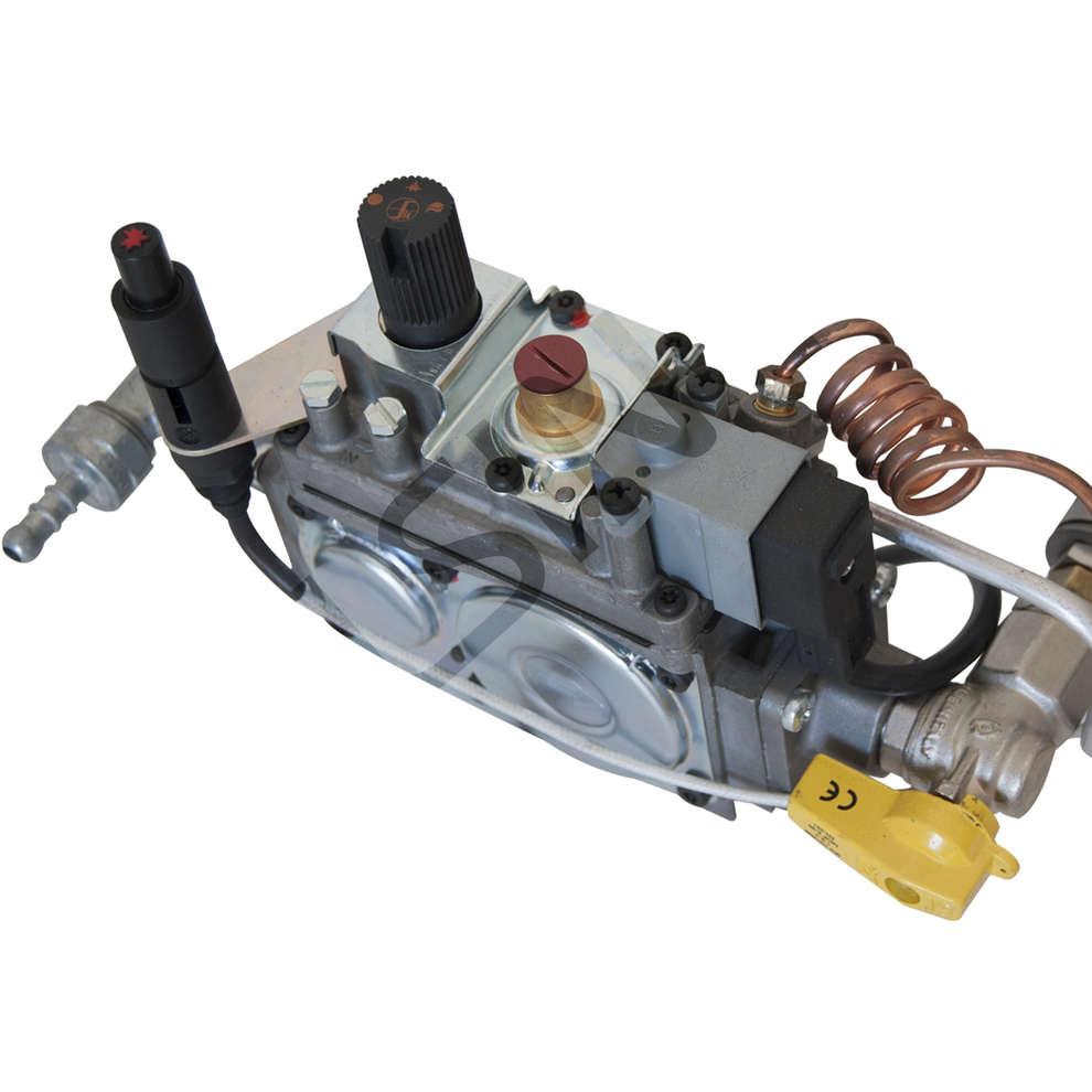 Hornillo de gas de acero de  8 kW ⌀40 PSPEV GPL