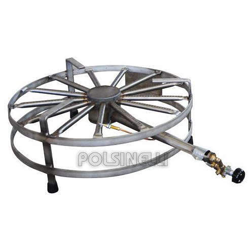 Hornillo de gas de acero de 8 kW ⌀40 S GLP